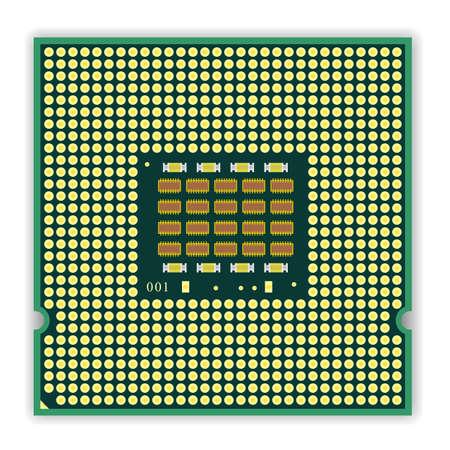 microcontroller: The  multi core   processor CPU computer