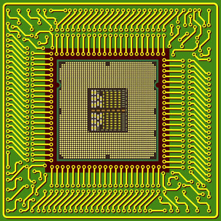 resistor: The modern computer is the processor on a chip