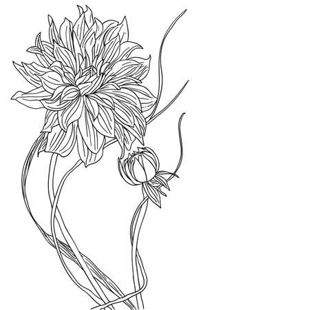 tattoo flower Vector