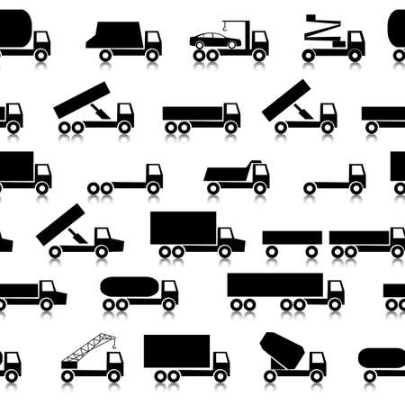 Cars, vehicles  Car body  Seamless wallpaper  Vector