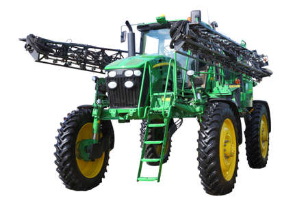 combine harvester on a white background Stock Photo - 12919322