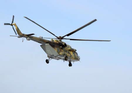 Esercito russo Mi-8 elicottero Archivio Fotografico - 13095652