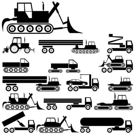 Cars, vehicles  Car body  Special cars  technique Stock Vector - 14375254