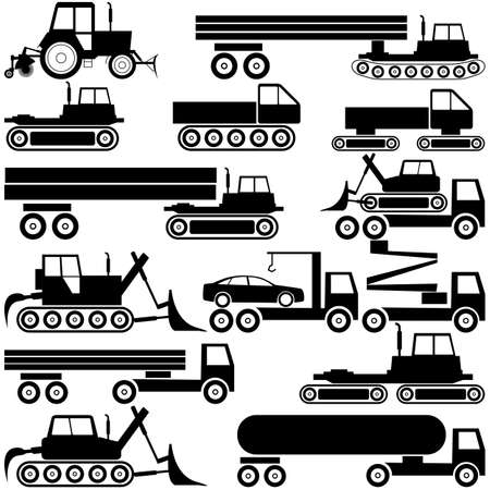 Special cars  technique  vector Stock Vector - 14375253