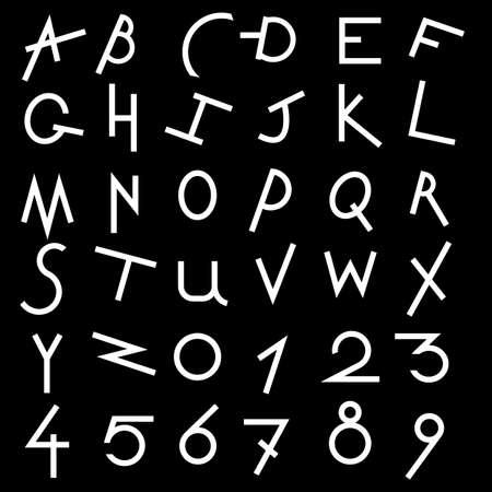 Decorative alphabet set Stock Vector - 14728988
