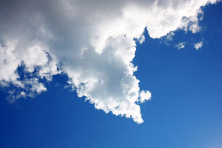 Cloud on blue sky in the   arrow Stock Photo - 14802382