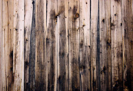 floorboards: Close up of  wooden fence panels Stock Photo