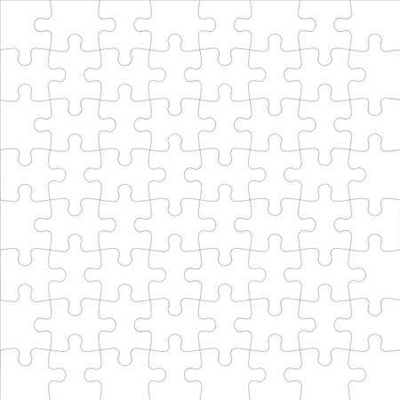 Background Vector Illustration jigsaw puzzle  Vector