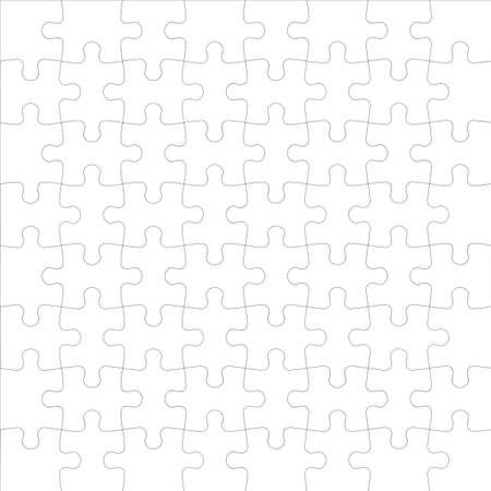 Vector Background Ilustración de rompecabezas