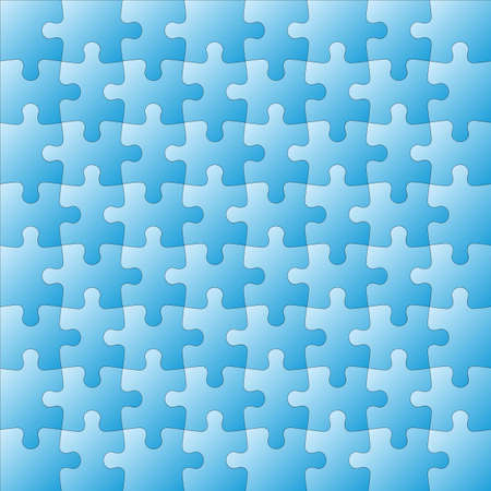 Background Vector Illustration jigsaw puzzle Ilustração