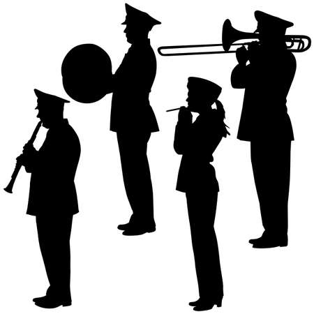 military musicians collection   Vector