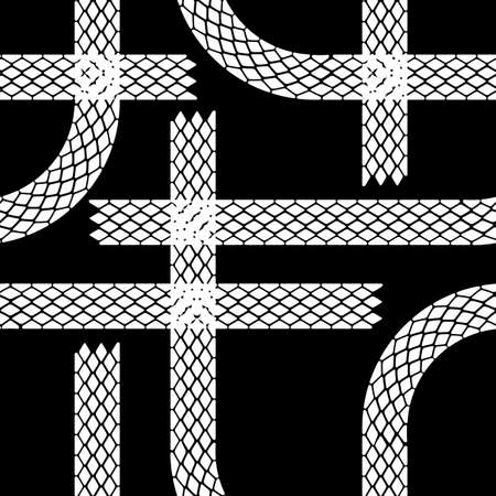 Seamless wallpaper winter tire tracks pattern illustration vector background Stock Vector - 17015939