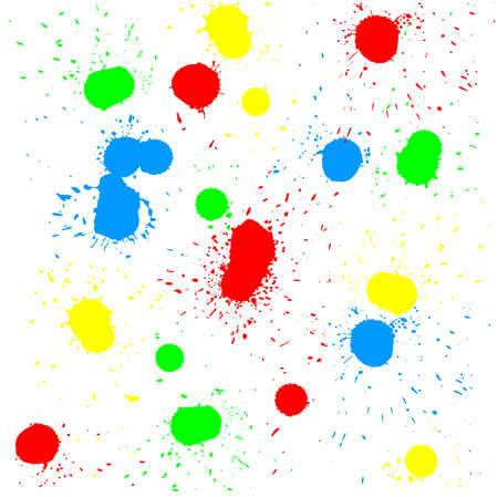 Brush blot vector on white background  Vector illustration Stock Vector - 17420613