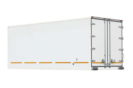 container on a white background. Stock Photo - 17794516