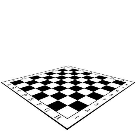 チェス盤。  イラスト・ベクター素材