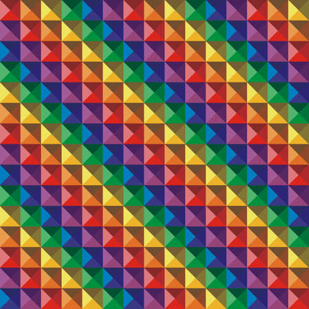 Abstract color  geometric mosaic background. Vector illustration. Vector