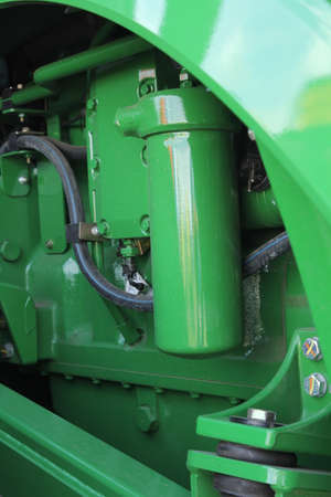 agricultural machinery: The new engine tractor. Agricultural machinery