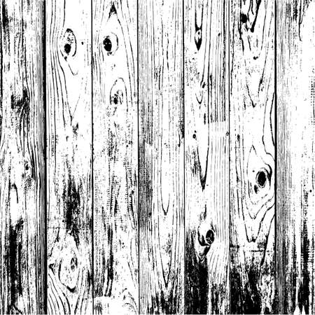 Wooden texture background, Realistic plank. Vector illustration. Stock Illustratie