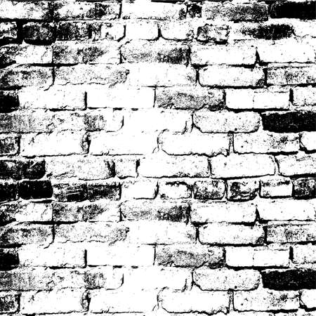 revetment: Brick wall of the house, with lines of a laying of a solution. Vector illustration.