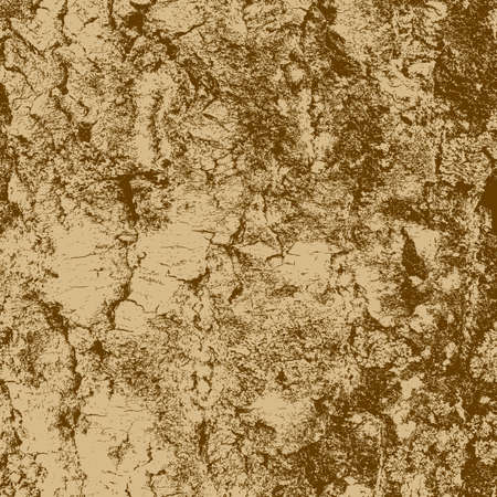bark of birch in the cracks texture. Vector illustration. Illustration