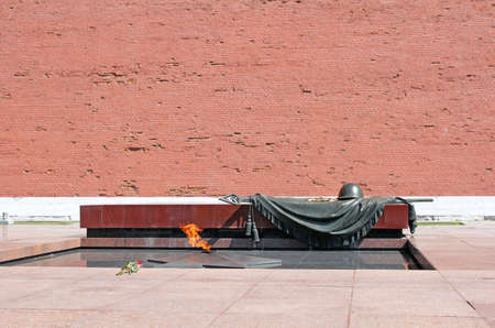 tomb unknown soldier: Eternal Flame, Tomb Of The Unknown Soldier to Moscow. Kremlin, Russia