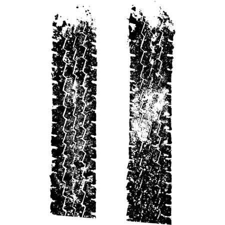 neumaticos: Fondo de Grunge con la pista del neum�tico negro.