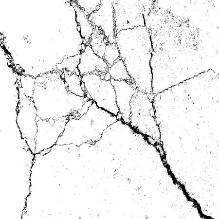 cracks: Abstract background, cracks on the surface. Vector illustration. Illustration