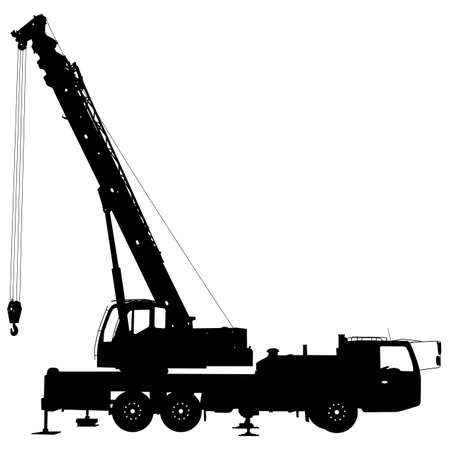 heights job: Electrician, making repairs at a power pole Illustration