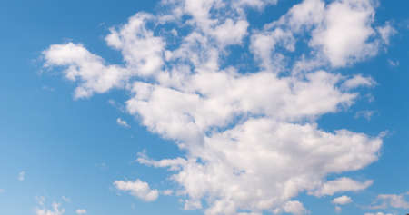 cloudy morning sky, nature background.