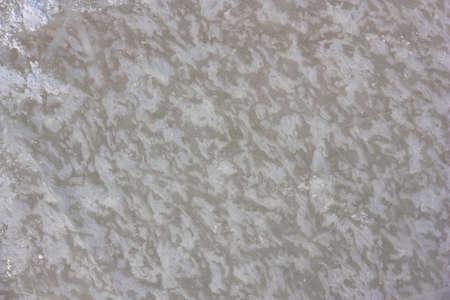 Slightly blurred frost pattern on a window glass.