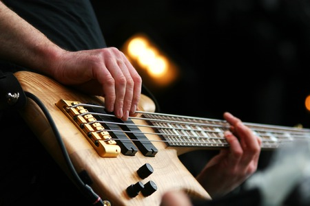 amplified: Guitarist in action