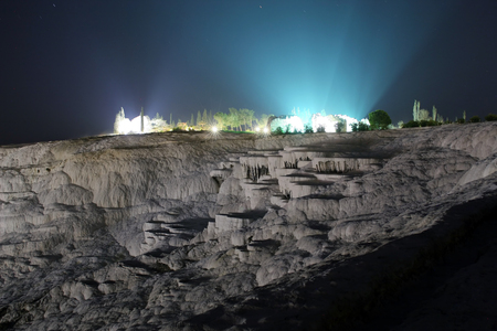 Pamukkale, a natural wonder in Turkey photo