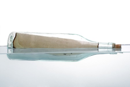 Message in the bottle photo
