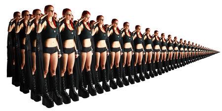 clones: Army of clones