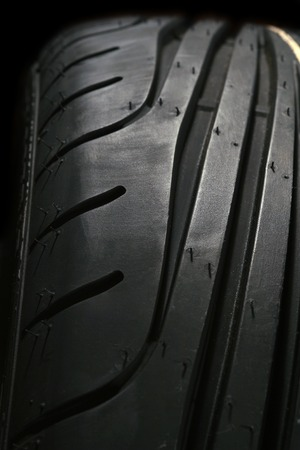 hz: High performance summer tire Stock Photo