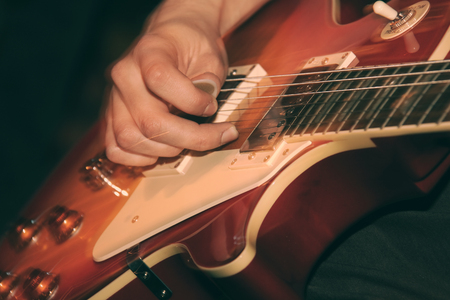 amplified: Guitarist at the concert