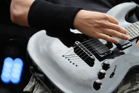 amplified: Rock guitarist
