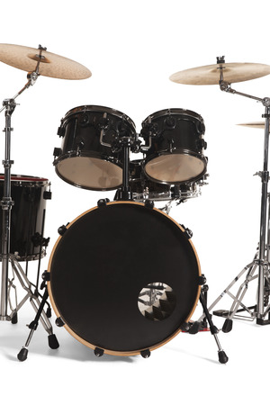 bass drum: Bass Drum Kit isolated over white background