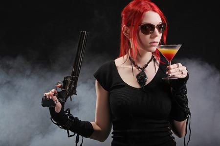 Dangerous young girl