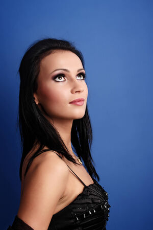 mujer elegante: Hermosa mujer elegante