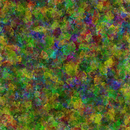 abstract, graphic prints elm leaves, colorful bright colors, the substrate of the spots, the background for the scrapbook,