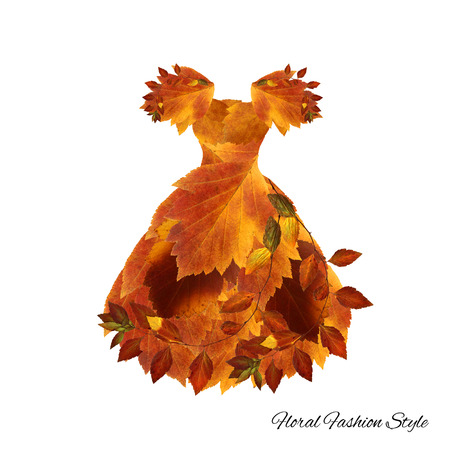 fantastic dress made of flowers  High Style floral fashion