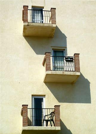 Balconies Stock Photo - 16902424
