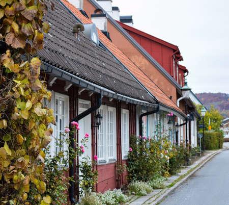 Small village in Sweden