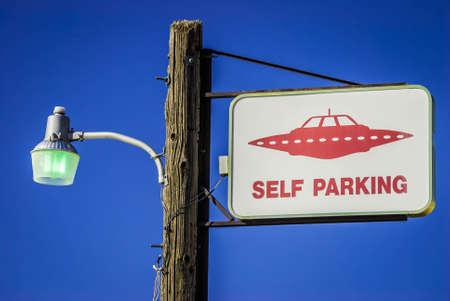 Alien Parking Only