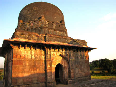madhyapradesh: Historical place at Mandu, Madhyapradesh, INDIA Stock Photo