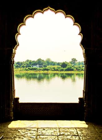Historical place at Mandu, Madhyapradesh, INDIA   Stock Photo
