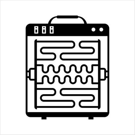 Heater Icon, Heater Vector Art Illustration