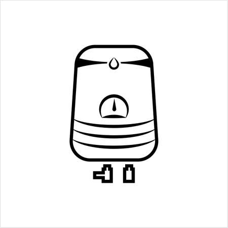 Geyser Icon, Design Vector Art Illustration