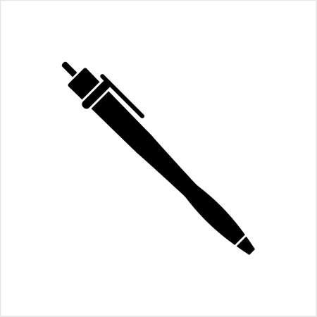 Pen Icon, Creative Design Vector Art Illustration Ilustração